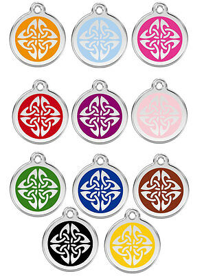 Red Dingo Tribal Arrows Engraved Dog / Cat ID identity Tags / Discs (1TA)