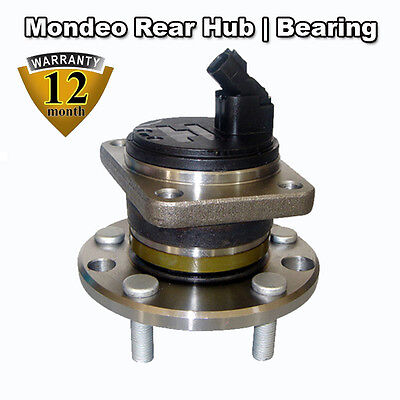 Ford Mondeo 1.8 MK3 2001-07 REAR Wheel Bearing Hub & ABS Sensor NEW WITH BOLTS