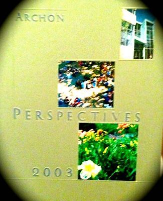 """2003 BRANDEIS UNIVERSITY yearbook """"Archon"""" """"Perspectives""""~barely touched ~"""