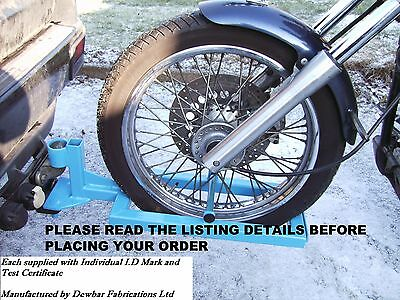 TRIKE QUICK RELEASE TOWING FRAME / DOLLY - THE ORIGINAL - ID marked & test cert