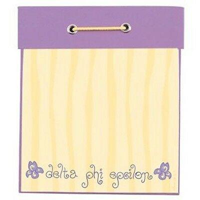 Delta Phi Epsilon Sorority Square Notepad