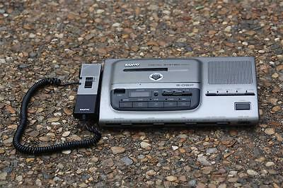 SANYO Cassette Transcriber System TRC-9200 S-DSP W/ Power Supply