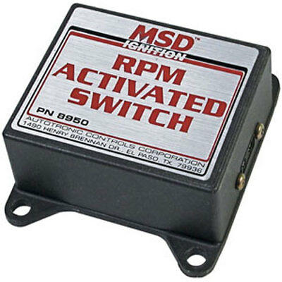 MSD Ignition 8950 RPM Activated Switch