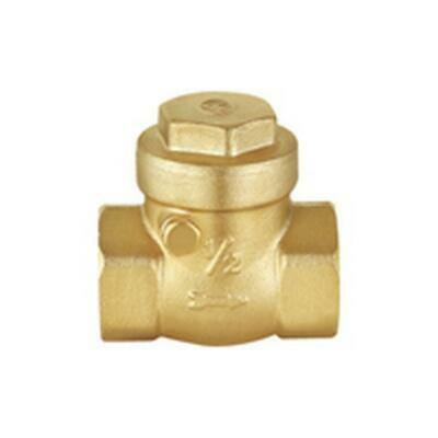 "SWING CHECK VALVE BRASS 50mm 2"" FI*FI BSP Brass Flap SCV50 IRRIGATION/INDUSTRIAL"