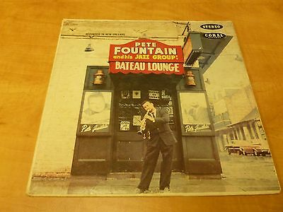 LP Pete Fountain and his Jazz Group - Bateau Lounge - CRL 757314