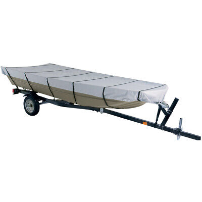 Dallas Manufacturing Co.300D Jon Boat Cover Model B-Fits 14' w/Beam to 70""