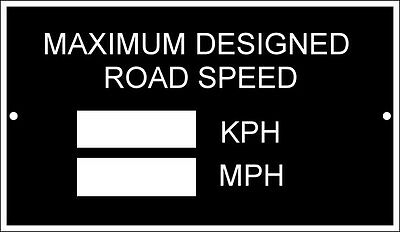 LDV FORD VW VAN LORRY TRANSIT MAX id SPEED CHASSIS PLATE @ VIN-PLATE-ESSENTIALS