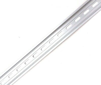 20 Pieces DIN Rail Slotted Aluminum RoHS 1 Meter Long 35mm 7.5mm 20 Meters Total