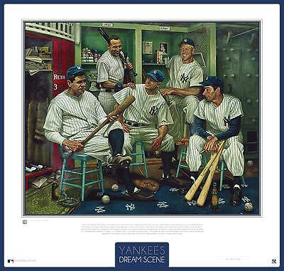 New York Yankee'S – Dream Scene – Jamie Cooper Artwork – Framed