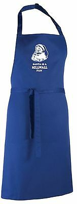 Santa is a Millwall Fan Christmas Apron.Secret Santa Gift