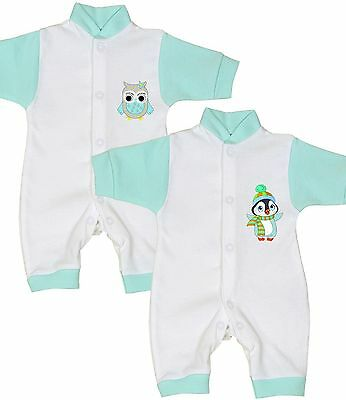 BabyPrem Premature Tiny Baby Clothes Boys Girls Unisex Romper Playsuit