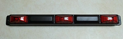 Trailer Truck LED ID BAR Light RED (3) 2-Diode light surface mount Submersible