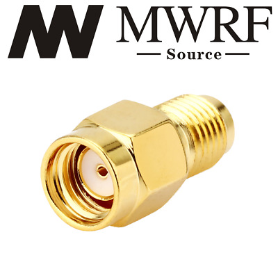 SMA Female To RP-SMA Male connect SMA to RP-SMA RF Connector Adapter USA