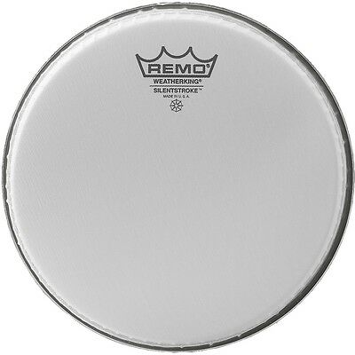 Remo SilentStroke Mesh Drum Head Skins For Practice Silent Play Electronic Kits