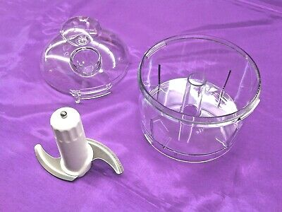 Genuine Kenwood Blade And Bowl And Lid With Drip Feed Spout For CH180/CH180A
