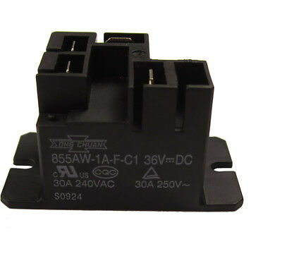 36 Volt Battery Charger Relay for Lester Club Car Model Golf Cart Chargers