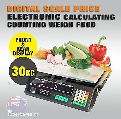 Digital Scales Kitchen Food Electronic Weight Postal Price 30KG Scale Fruit Meat