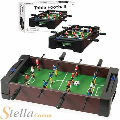 "Tabletop 16"" Mini Table Top Football Foosball Soccer kids Game Gift"