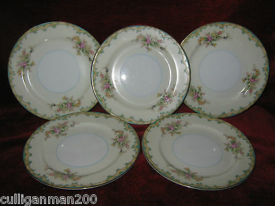 "1 - Lot of 5 - Noritake Ingram 6 1/4"" Bread & Butter Plate (2014-264)"