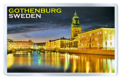 Sweden Gothenburg Fridge Magnet Souvenir Iman Nevera