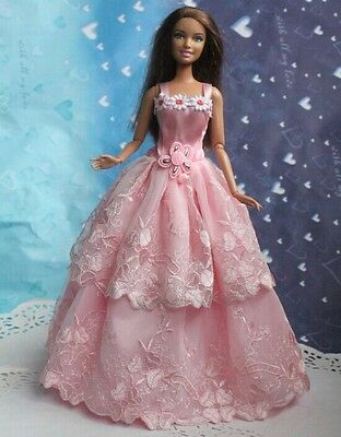 Lovely children Christmas gift original clothes dress for barbies doll a1595