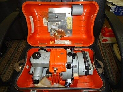 LIETZ TRANSIT N010C IN HARD CASE FOR SURVEYORS- SOKKISHA - NICE CONDITION