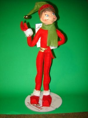 "Annalee  14"" Red Christmas Delights Elf"
