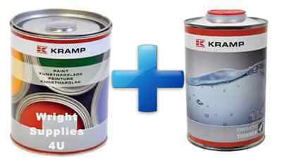 Tractor Paint 1L + 1L Thinners FREE .  All makes and models and primers