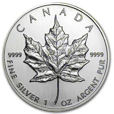 1994 Canada 1 oz Silver Maple Leaf BU - SKU #11058