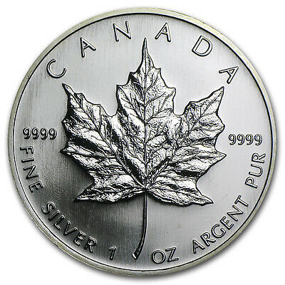 2006 Canada 1 oz Silver Maple Leaf BU - SKU #11427