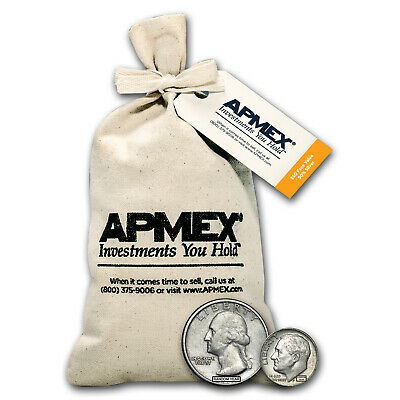 90% Silver Coins - $50 Face-Value Bag - SKU #68839