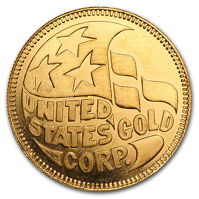 1 oz Gold Round - Secondary Market - SKU #50132