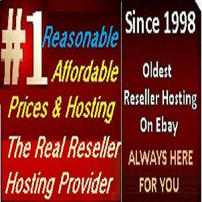 Unlimited Master Reseller Web Hosting Cpanel Whm