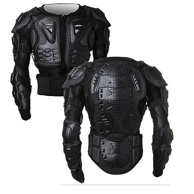 Fashion Motorcycle Bike Full Body Armor Jacket Gear Chest Shoulder Protection