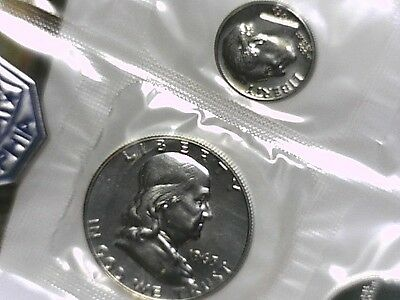 1963 Proof Silver Coin Set
