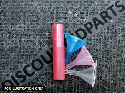 5ml ATOMISER SPRAY BOTTLE PERFUME  AFTERSHAVE REFILLABLE TRAVEL - DARK PINK