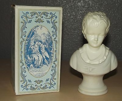 Vintage Avon 18th Century Classic Figurine Young Boy - Moonwind Cologne
