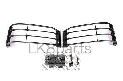 Land Rover Discovery 2 2003-2004 Headlamp Front Light Guard Kit Set Stc53193 New