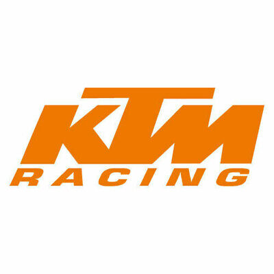Kit 2 adesivi tuning KTM RACING moto custom decals stickers