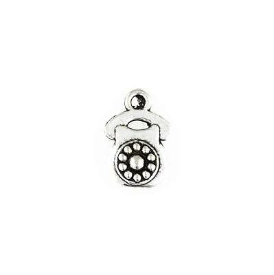 11 Telephone Old Charms Antique Tibetan Silver Tone LC0347
