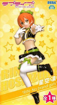 "Rin Hoshizora Figure ""No Brand Girls"" anime Love Live! SEGA official"