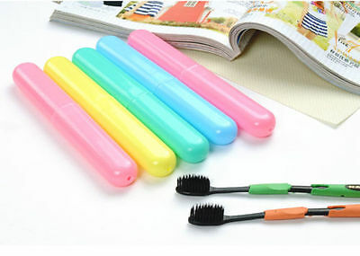 Portable Travel Hiking Camping Toothbrush Protect Holder Case Box Tube Cover