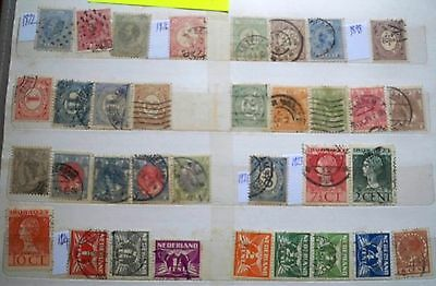 (WK43) 1872-2001 Netherlands collection approx 400stamps &M/S F/U