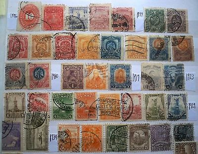 (WK41) 1886-2000 Mexico mix approx 170 stamps F/U (B)