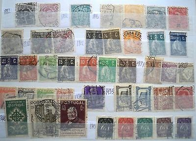 (WK45) 1882-1985 Portugal &colonies mix approx 130stamps F/U (A)