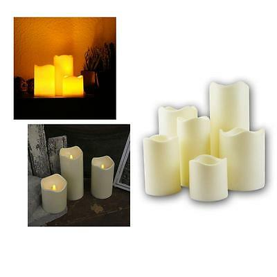 Led Candle For Outdoors - With Timer Flickering Leds, Flameless Outdoor candles