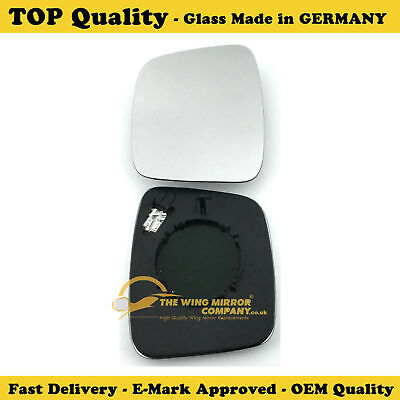 Hyundai  I10 LHS DOOR MIRROR GLASS SILVER HEATED /& BASE 09-2013 to 2017