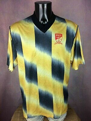 BENICIA Jersey Maillot Camiseta Vintage Made in USA California Porté Worn Soccer