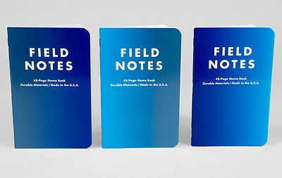 Field Notes Brand: Cold Horizon Edition 3-Pack