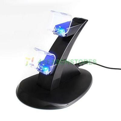 Charging Dock Dual USB Stand Station For Playstation 4 PS4 DUAL SHOCK Controller
